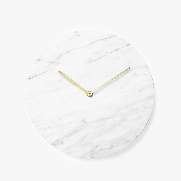Denmark-based Norm Architects, the Marble Wall Clock