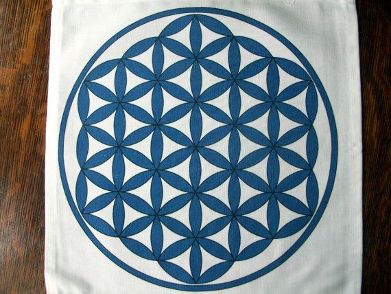 Flower Of Life Grid Cloth August 2017