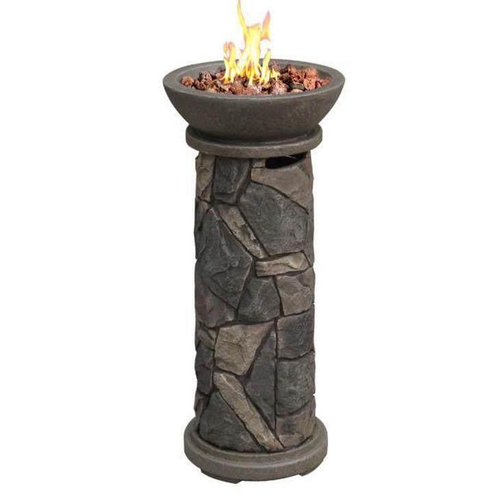 Bond Flat Rock Falls Fire Column - 65226