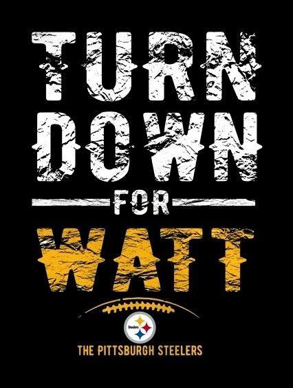 #90 T.J. Watt #Pittsburgh Steelers