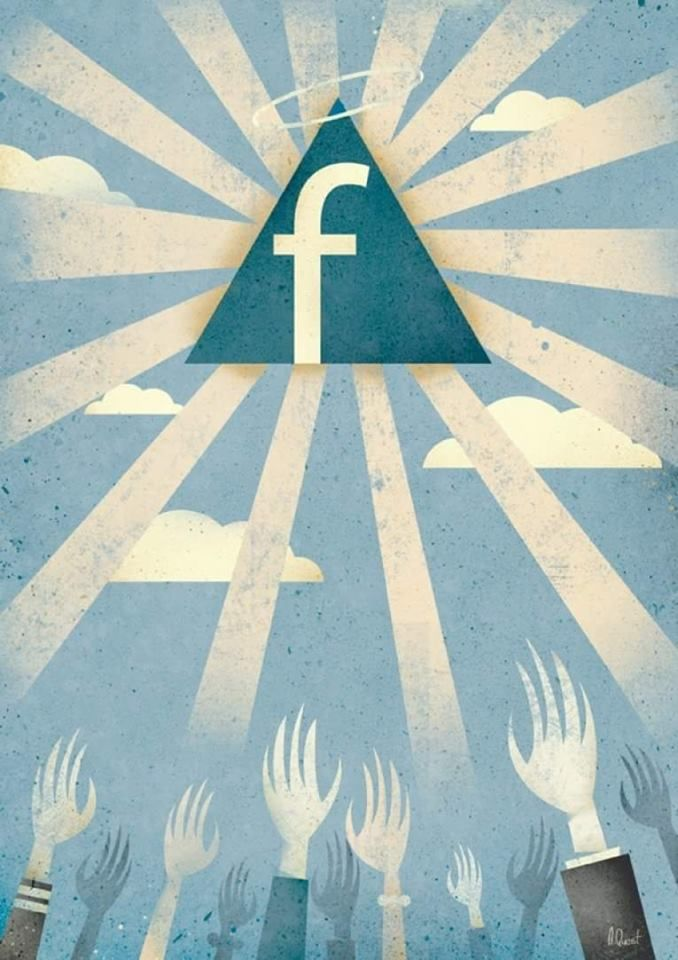 We all want Facebook, even if we hate it. We use Facebook to say how much we hate Facebook.