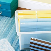 Awesome guide on how to organize important papers and documents as well as how long to keep them and where to store them.