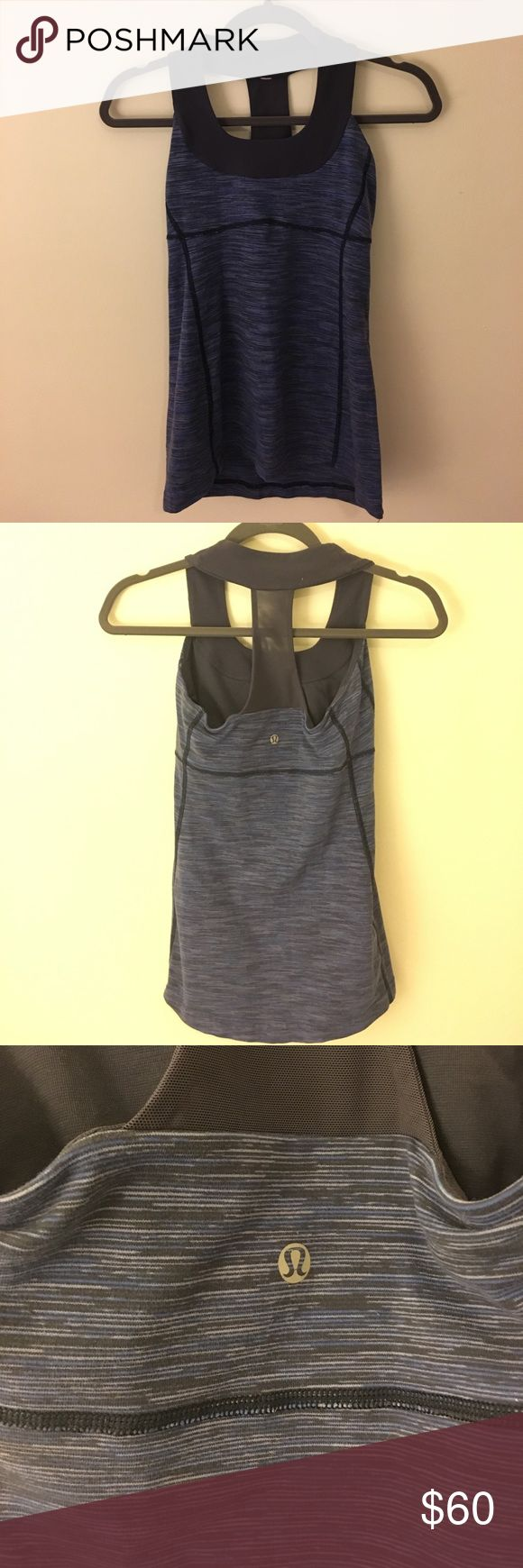 Lululemon Razorback tank Great condition! I have the tag but it isn't attached to the shirt! lululemon athletica Tops Tank Tops