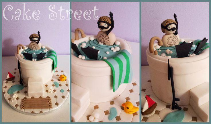 Snorkeling Cake!