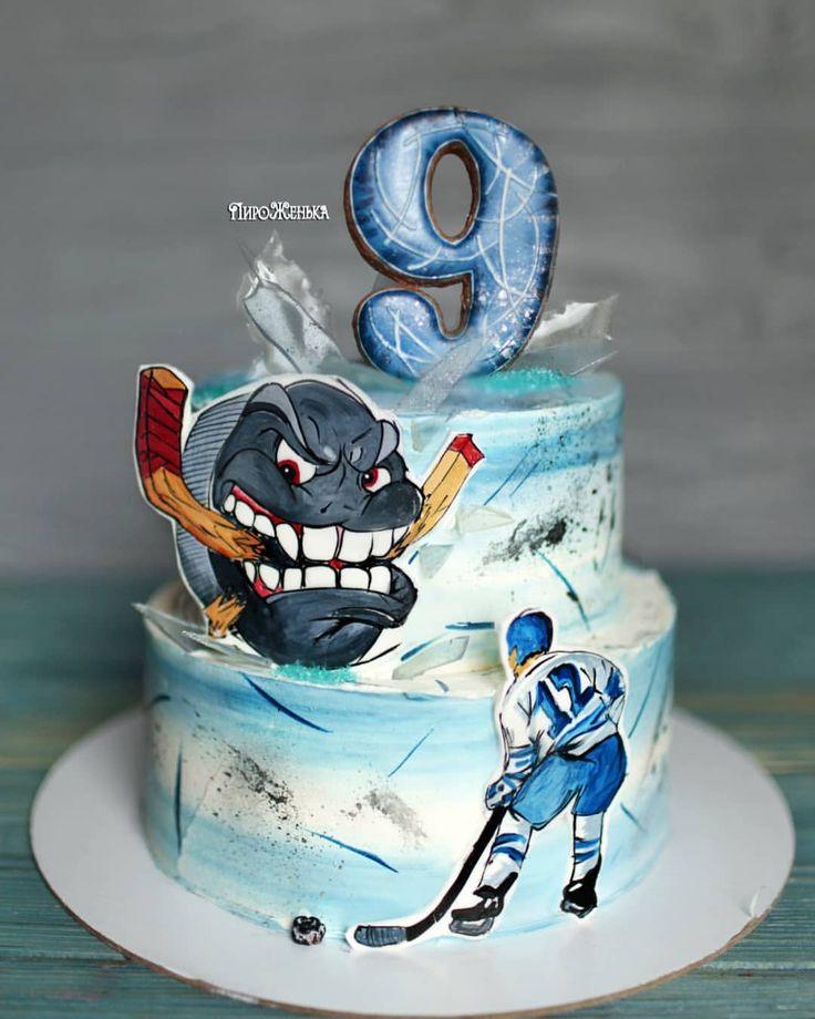 торт с хоккеистами картинки мои