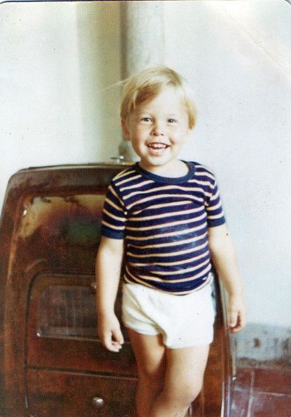 Courtesy Errol Musk -- Elon Musk at age four or possibly five years of age, at home in Pretoria, South Africa. Elon Musk is best known for being the co-founder of PayPal and Tesla Motors, the luxury all-electric car maker. But he has bigger ideas, including one to colonize Mars.