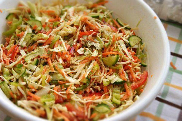 Салат овощной «Гениальный» на зиму