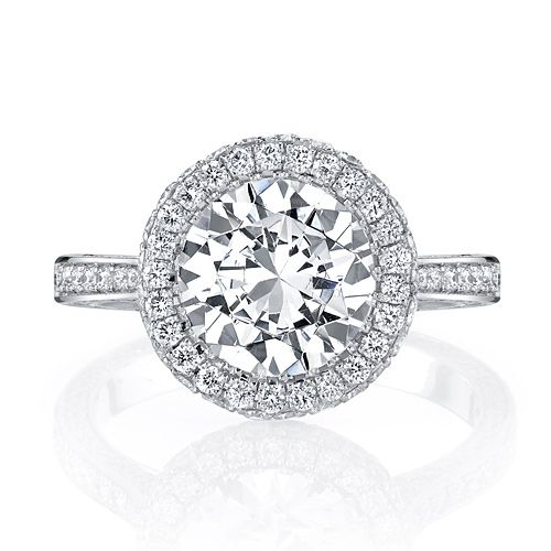 What Is A Seamless Halo Engagement Ring