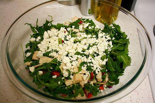Orzo chicken pasta salad