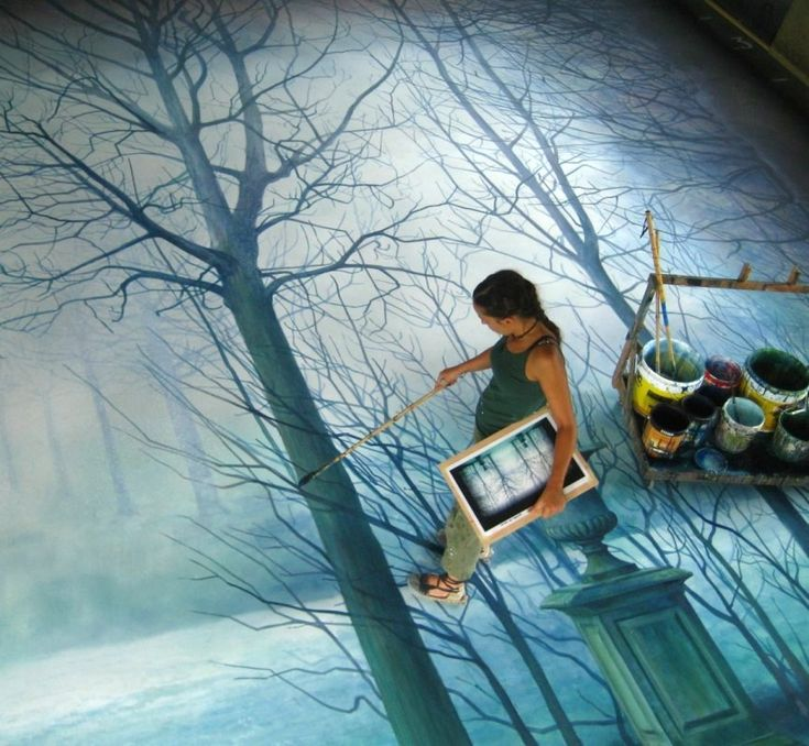Best Cinta Vidal Images On Pinterest My Sister A Small And - Artist creates amazing fantasy dreamscapes into her small studio without using photoshop