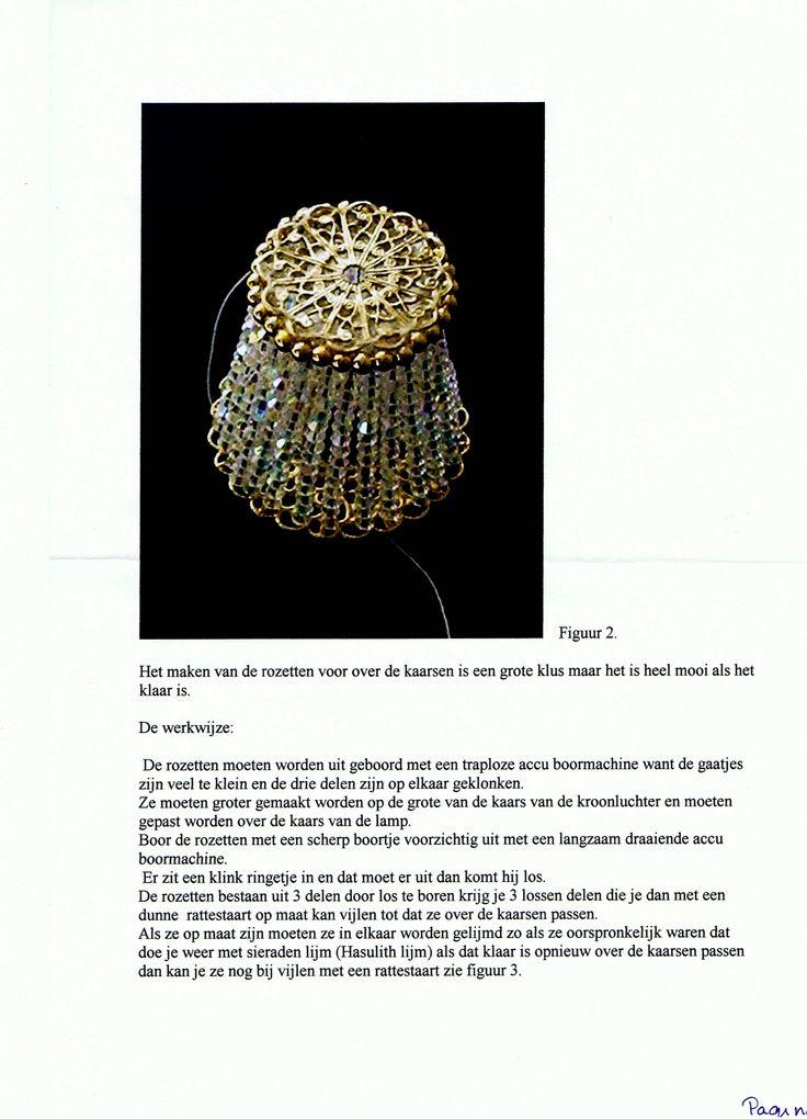 Workshop kristallen swarovski kroonluchter pagina 3