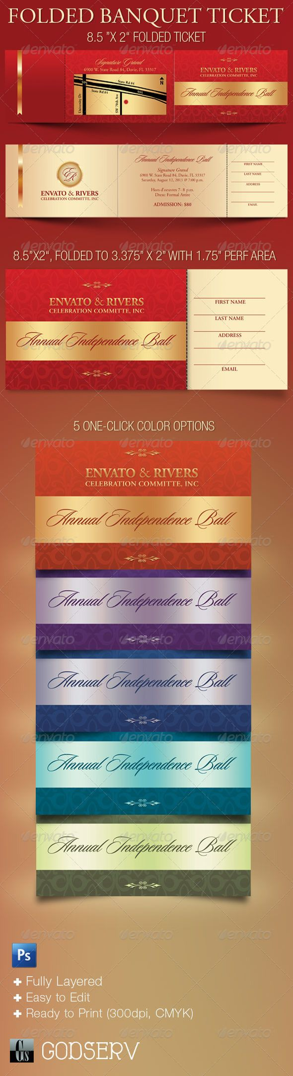 banquet templates