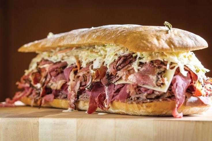 """Baking Company's """"Signature Sloppy Joe"""" sandwich"""