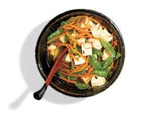 Tender ginger tofu