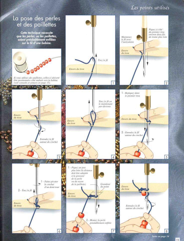 Plays With Needles: Tambour Beading Masterclass - Sirve para bordar con pedrería, lentejuelas, abalorios, cristales...