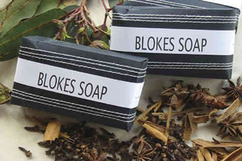 Australian Made and just for Men. Blokes Soap - White Apple Gifts