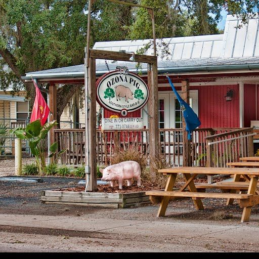 The Ozona Pig Barbeque Restaurant In Right Next To Palm Harbor Photo By John Winter Fl 2018 Pinterest Florida Vacation