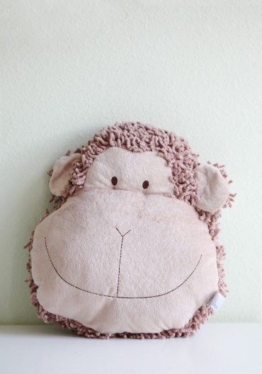 marlon the monkey pillow