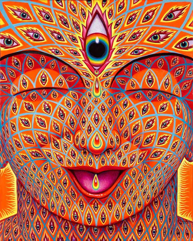 Tears of Joy, Alex Grey, 2014
