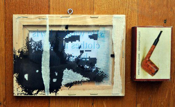 Tocaya Original Mixed Media Art Work with 3D by willemartina, $27.00