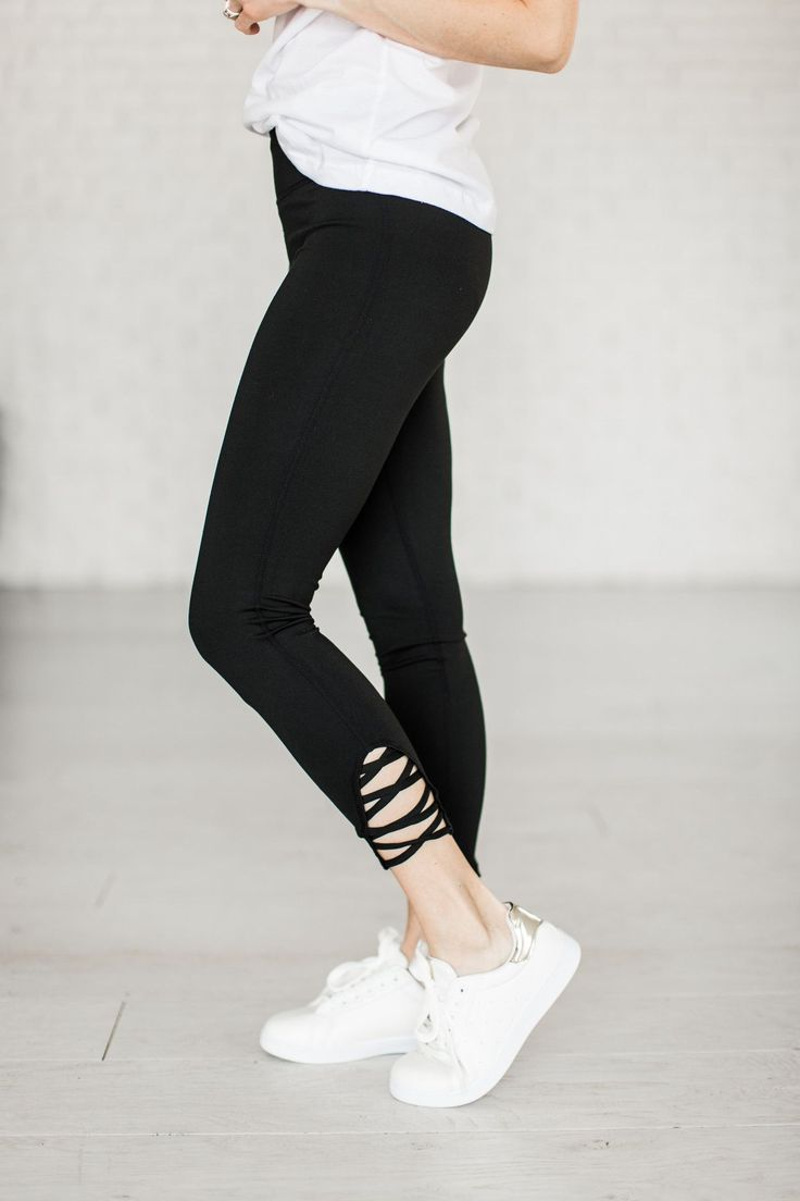 Leggings ARE pants... don't let anyone tell you different! Polyester / Spandex