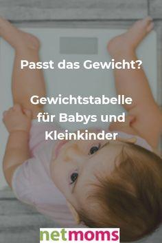 #gewicht #gewichtstabelle #baby #kinder #kleinkinder #übergewicht #untergewicht #waage #gesundheit #familienleben #netmoms #fit #mama