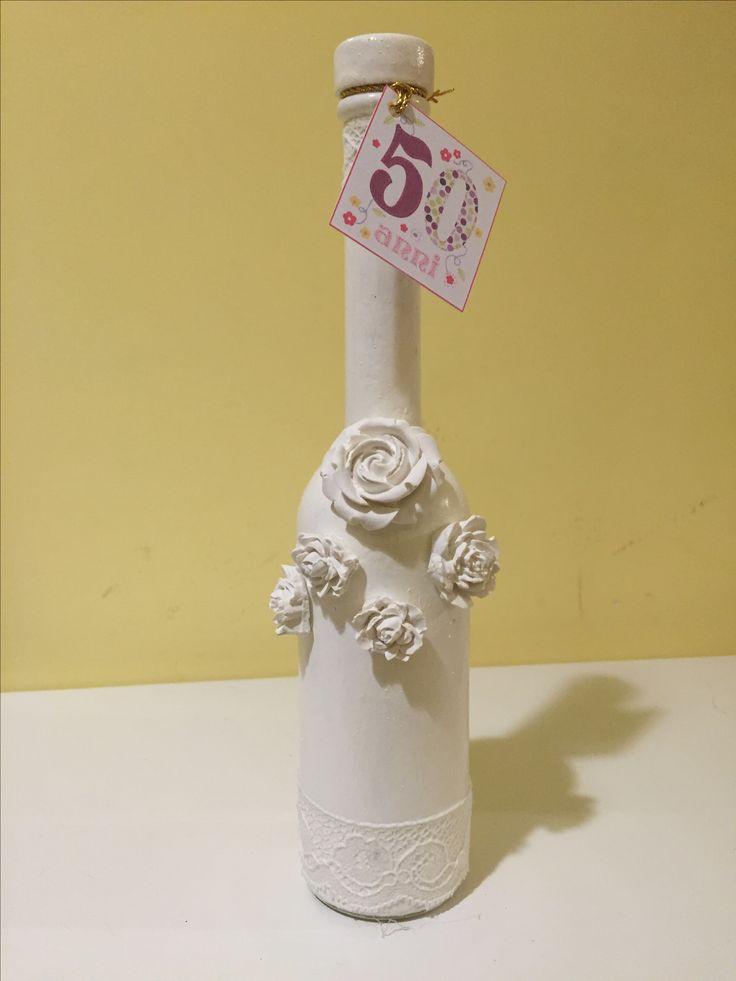 Bomboniera compleanno 50 anni    Per informazioni scrivere a: Duefioricreazioni@gmail.com