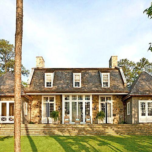 Southern Living stone lake house Alabama (1)