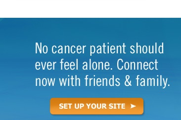 Cancer patient dating site
