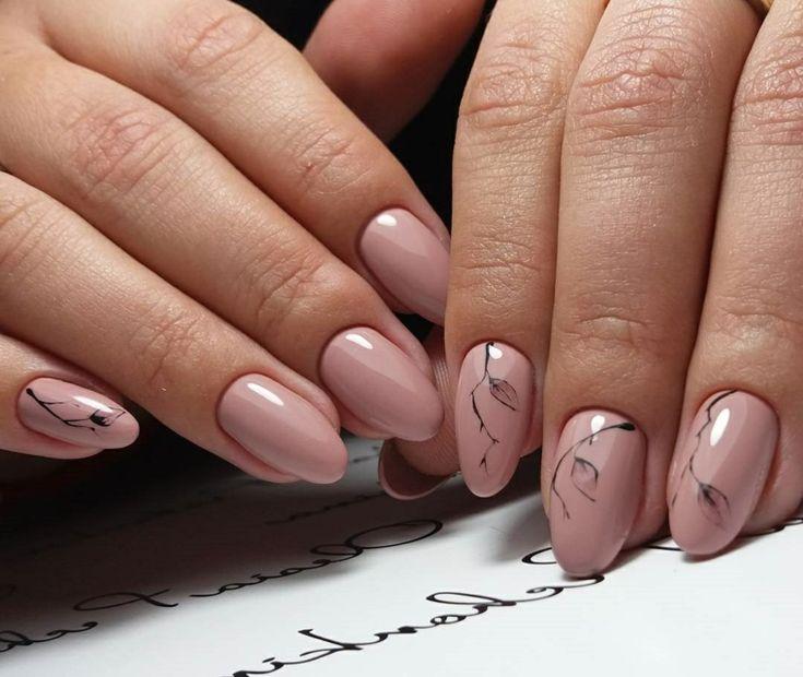 64 best unghie gel nere images on pinterest for Decorazione e applicazione unghie finte