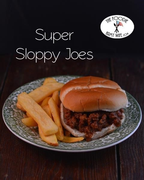 A crockpot full of these Super Sloppy Joes are the perfect addition to your Super Bowl Bash, or simply supper this week.  To begin, dice a red bell pepper and an onion. In a large skillet, sa...