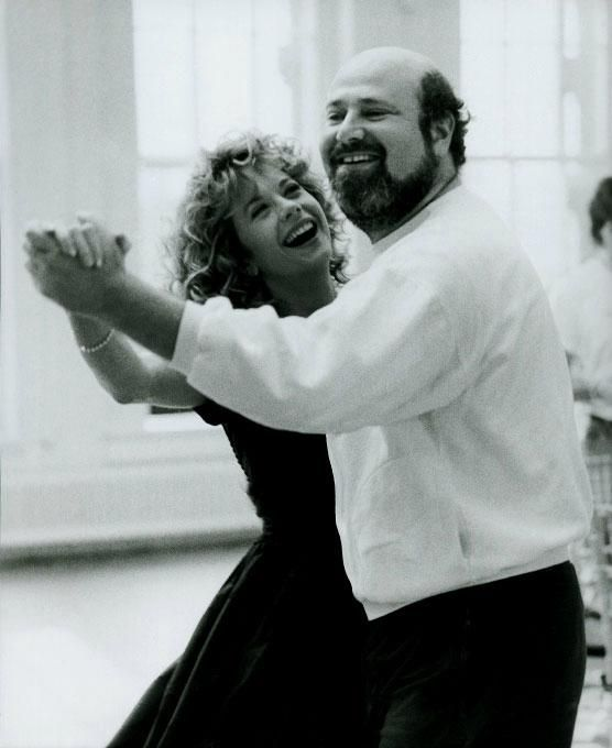 "Meg Ryan and director Rob Reiner on the set of ""When Harry Met Sally"" ~ 1989"