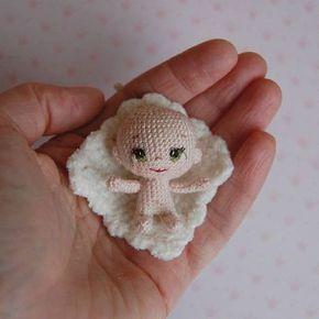 Adorable crochet baby