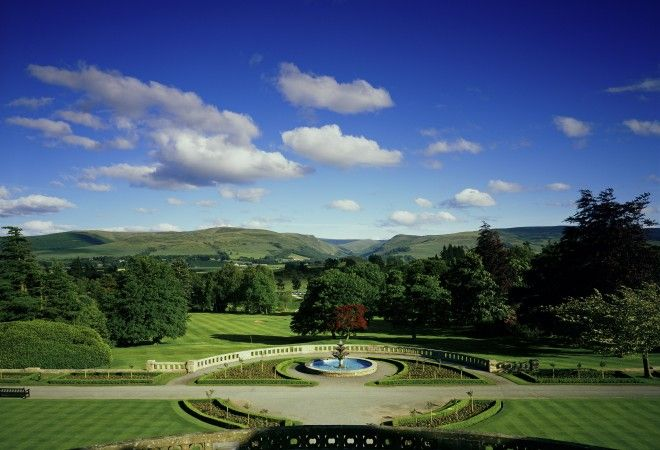Rolling countryside: Gleneagles Hotel in Perthshire, Scotland | smithandfamily.co.uk
