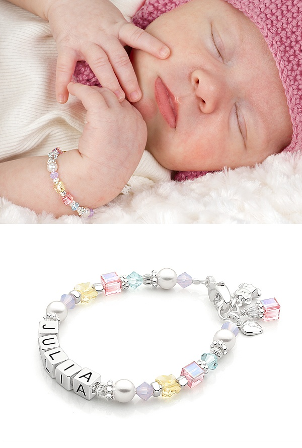 Tutu Cute Baby Children S Name Bracelet To Be Silver