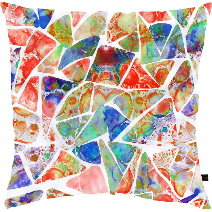 Marbled Earth features a marbled print.Specifications: - 45cm x 45cm- Dry-clean only- 100% Cotton front- Natural coloured cotton linen blend back- Concealed zipperHand made in the UKUK delivery time 3-5 working daysRest of the world 5-7 working da...