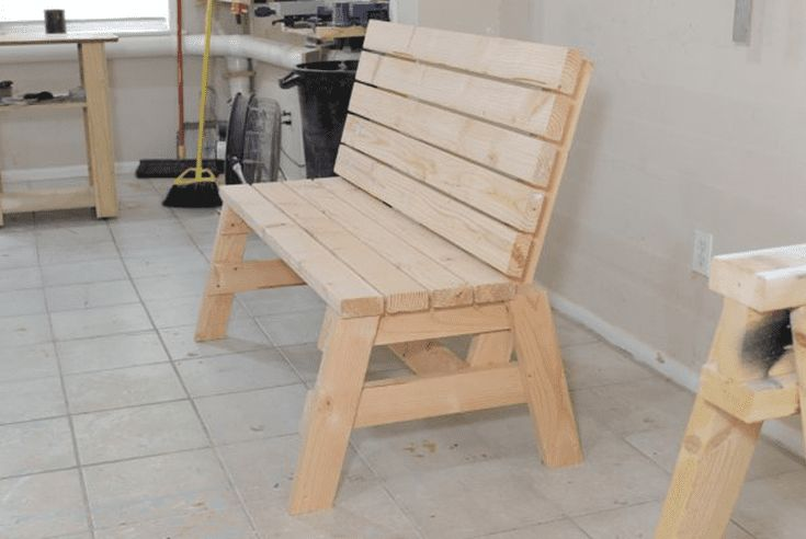 Build a Beautiful Bench with These Free DIY Woodworking Plans: Free Bench Plan at Jays Custom Creations #woodworkingbench