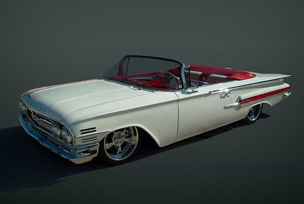 Chevrolet Bel Air >> : This beautiful 1960 Chevrolet Impala Convertible has been to the annual Goodguys Rod and ...