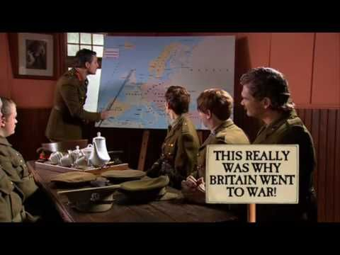 By the 19th century, Western nations were virtually unchallenged masters of other civilizations. Britain dominated overseas commerce and empire building, and they quarreled over colonial spoils, which led to WWI. This is a video that really dumbs down the very complicated cause of why Britain got involved in WWI.