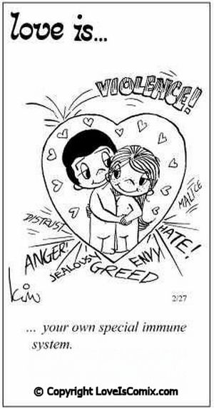 Love is... Comic for Tue, May 17, 2011