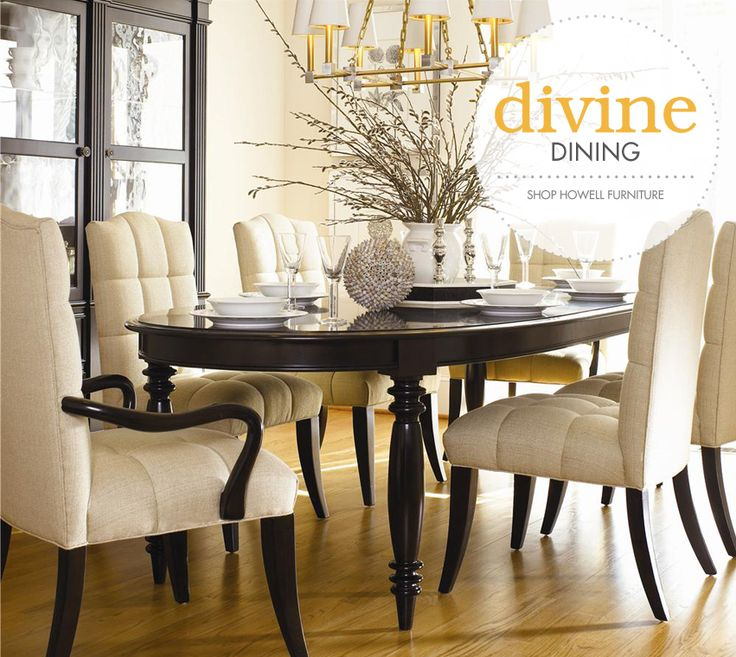 Thomasville Formal Dining Room Sets: Your Table Is Waiting