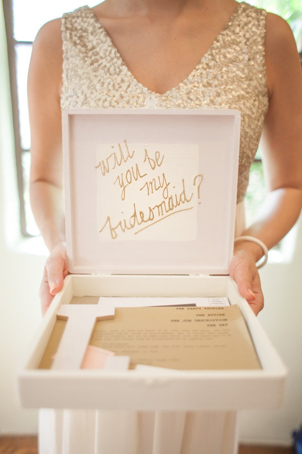 15 Creative Ways to Propose to Your Bridesmaids - will you be