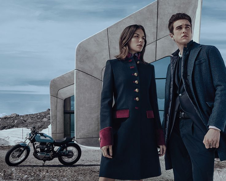 Introducing Morgane Polanski and Gabriel-Kane Day-Lewis, the new stars of Fay's Fall/Winter 2016-2017 campaign.