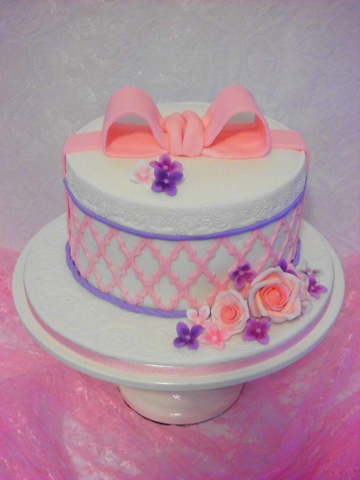 Hat box cake 25 pinterest hat box cake negle Image collections