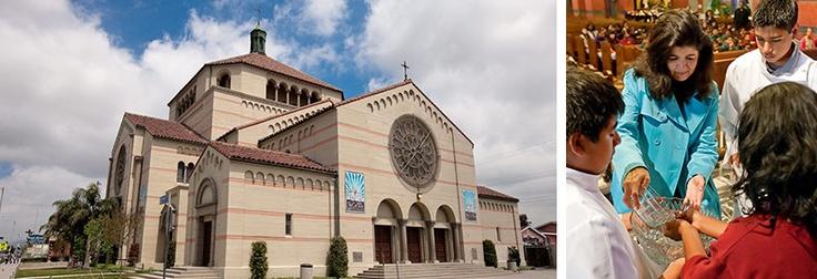 St. Cecilia Catholic school in LA... I went there:-)