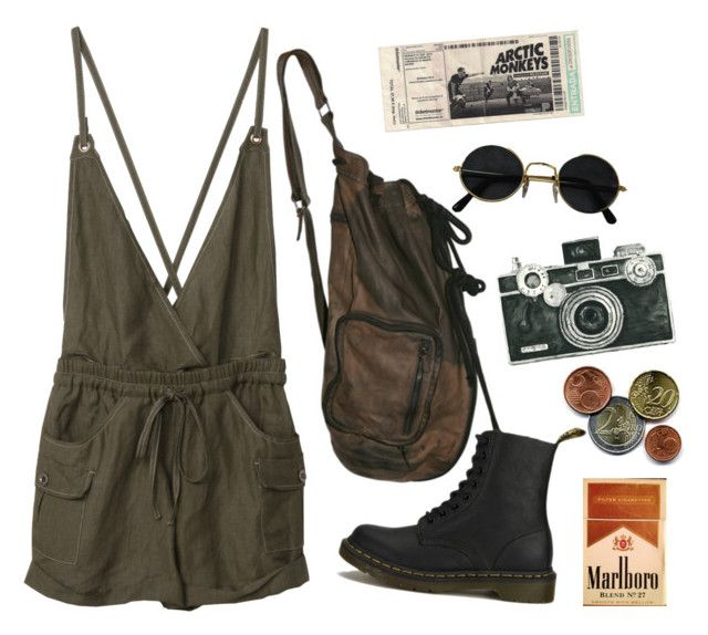 """""""Untitled #51"""" by nagy-bori on Polyvore featuring WALL and Dr. Martens"""