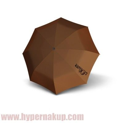 Dáždnik s.Oliver BASIC UNI skladací mechanický hnedý