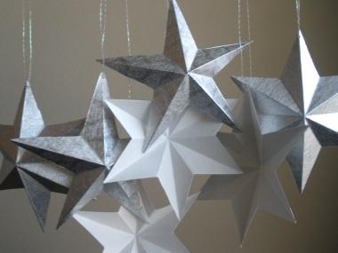 Kirigami stars