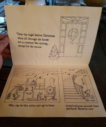 VINTAGE-BALDWIN-PIANO-CHRISTMAS-COLORING-BOOK-Unused