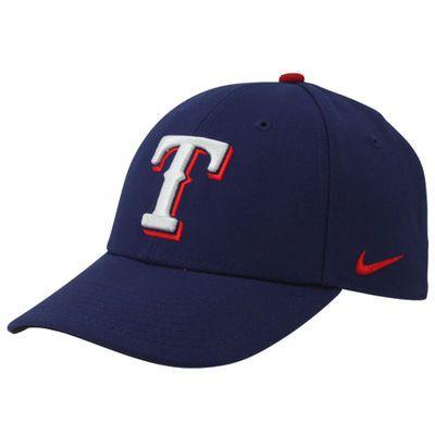Adult Texas Rangers Nike Dri Fit Blue Adjustable Hat 1.6